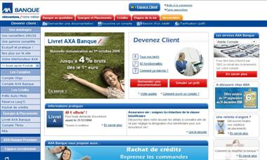www axabanque fr consulter ses comptes axa banque espace client. Black Bedroom Furniture Sets. Home Design Ideas