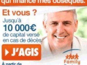 Capital décès FAMILY PROTECT Assurance Obsèques