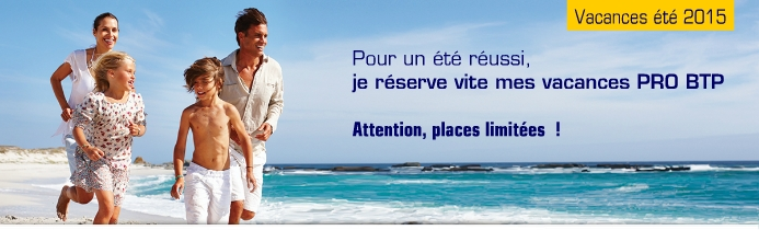 PRO BTP NANCY - Contact vacances