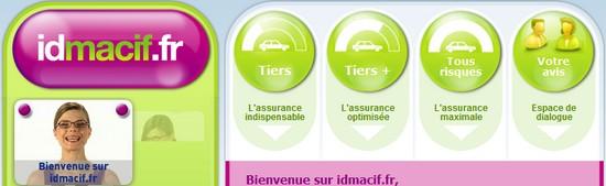 IDMACIF Devis assurance Auto Mutuelle Santé