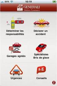 Liste des GARAGES AGREES GENERALI Assistance Reparateurs
