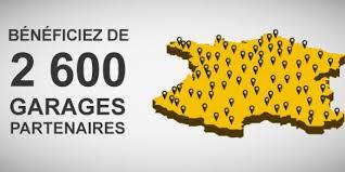 Réseau Réparation GARAGES AGREES EURO ASSURANCE Adresse Téléphone
