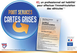 GARAGES AGREES CARTE GRISE SIV Immatriculation Véhicules roulants
